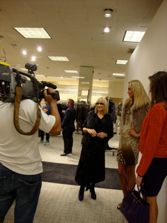 Fashion Night Out at Neiman Marcus.