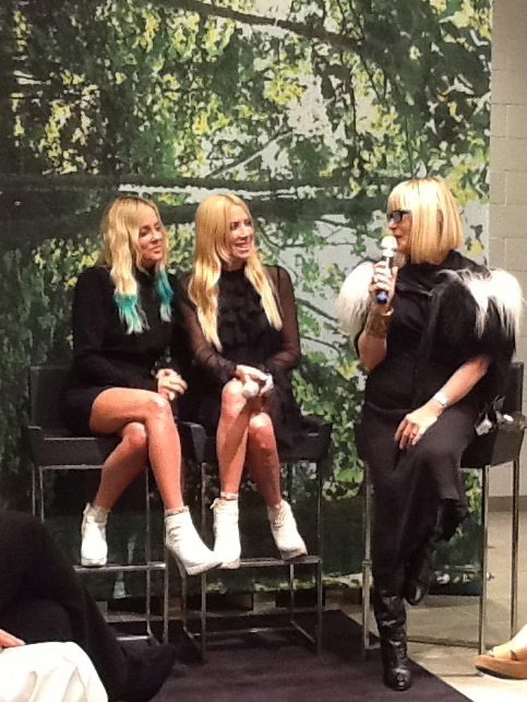 Elysze Q&A with Juicy Couture Founders Skaist & Taylor at Neiman Marcus
