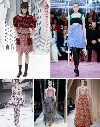 Paris Spring Summer Collections 2015: Haute Couture Flower ...
